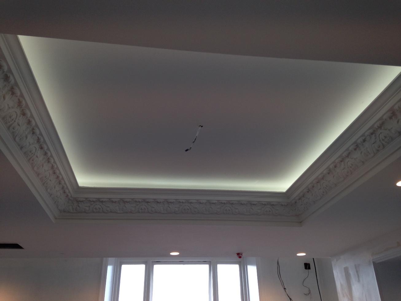 Sands Hotel Margate ceiling