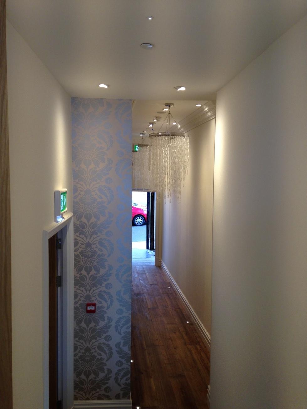 Sands Hotel Margate hallway